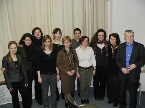 Cu Anke, Roland Erb şi domnişoarele traducătoare
