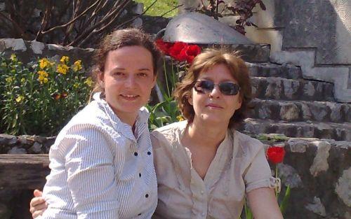 cu Julia Richter, prietena şi traducătoarea mea